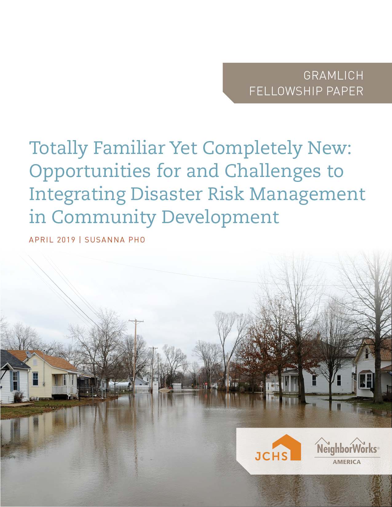Totally Familiar Yet Completely New: Opportunities for and Challenges to Integrating Disaster Risk Management in Community Development