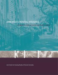 America's Rental Housing Report Release (Washington, DC)