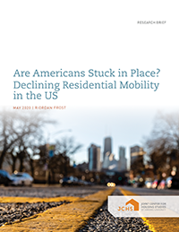 Are Americans Stuck in Place? Declining Residential Mobility in the US
