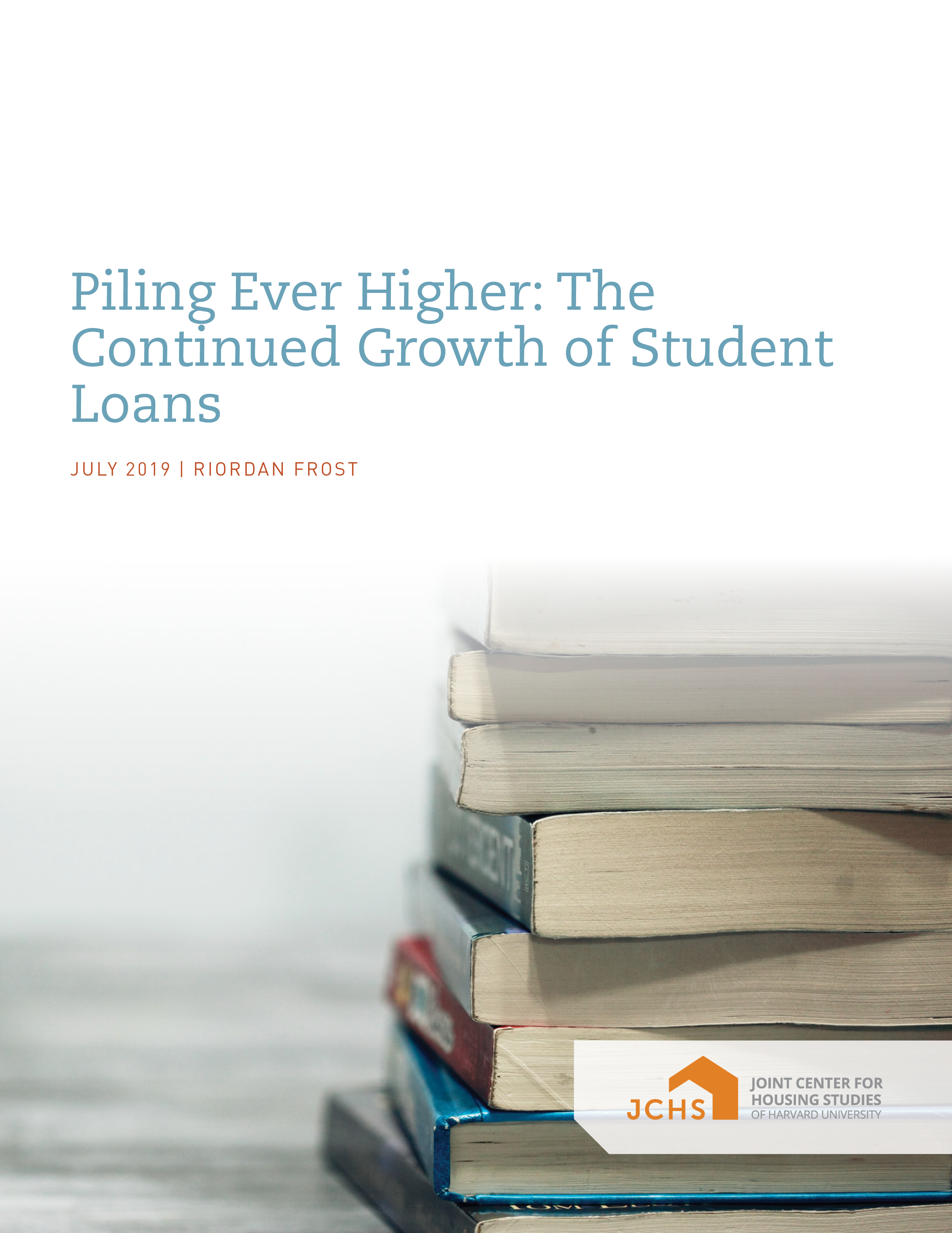 Piling Ever Higher: The Continued Growth of Student Loans