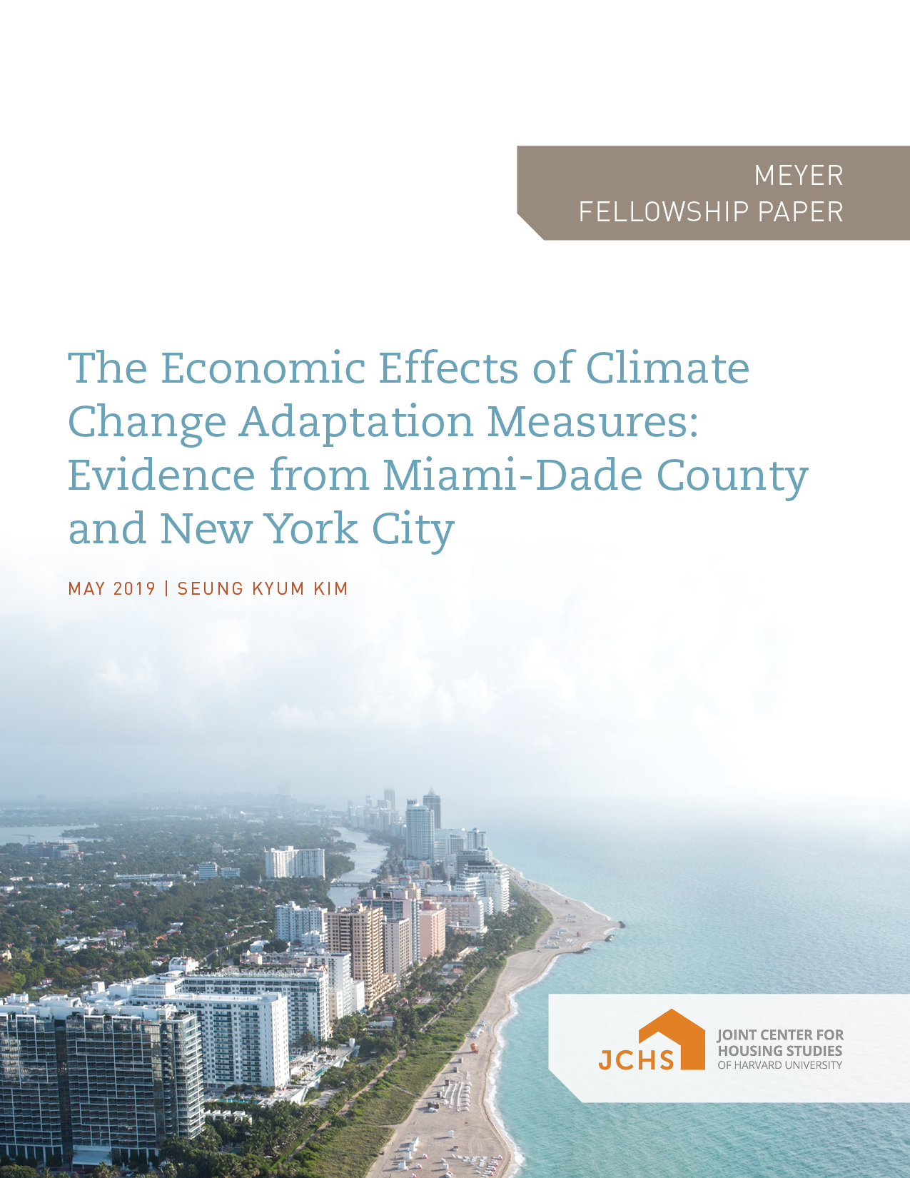 The Economic Effects of Climate Change Adaptation Measures: Evidence from Miami-Dade County and New York City