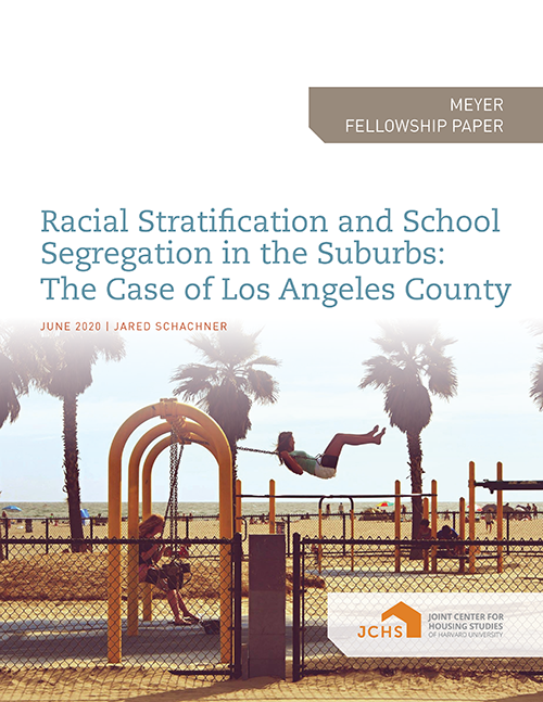 Racial Stratification and School Segregation in the Suburbs: The Case of Los Angeles County