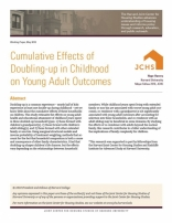 CUMULATIVE EFFECTS OF DOUBLING-UP IN CHILDHOOD ON YOUNG ADULT OUTCOMES
