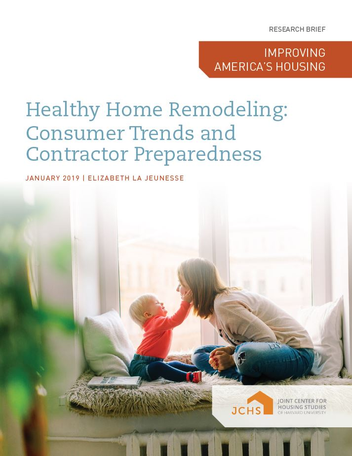 Healthy Home Remodeling: Consumer Trends and Contractor Preparedness