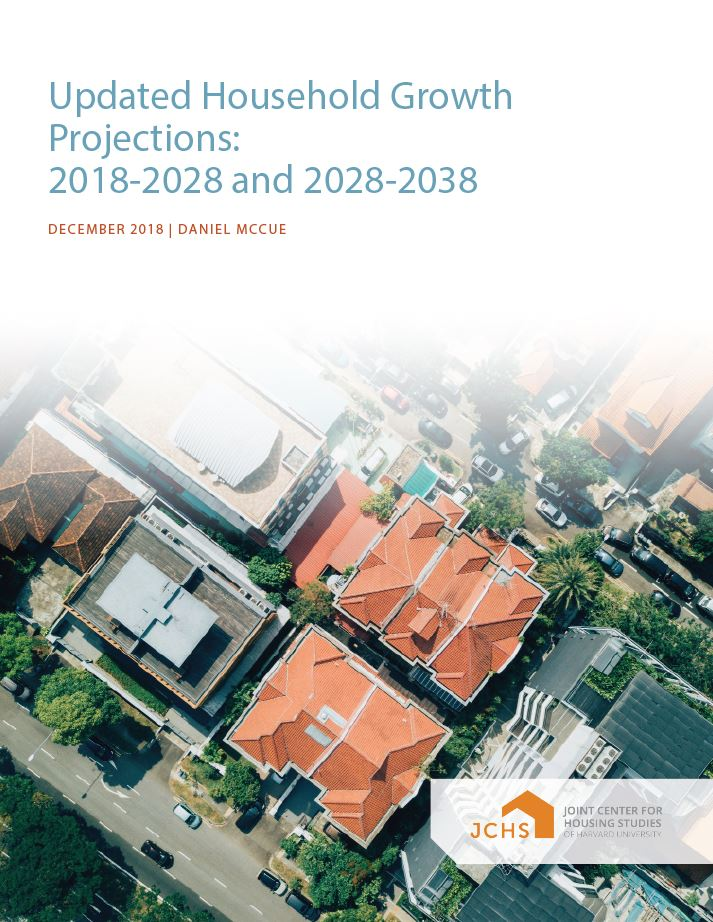 Updated Household Growth Projections: 2018-2028 and 2028-2038