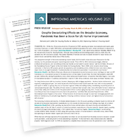 Improving America's Housing 2021 Press Release