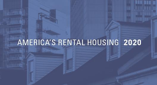 America's Rental Housing 2020