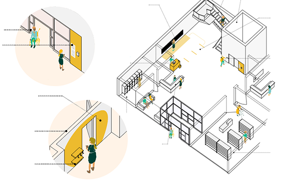 Designing Senior Housing for Safe Interaction in the Age of COVID-19