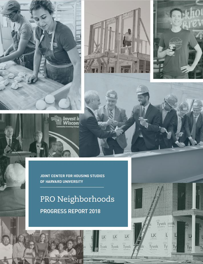 PRO Neighborhoods Progress Report 2018