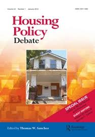 Housing Policy Debate cover