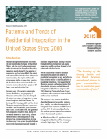 Patterns and Trends of Residential Integration in the United States Since 2000