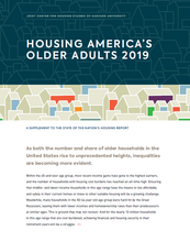 Housing America's Older Adults 2019