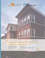 CREATING WELL-DESIGNED AFFORDABLE HOUSING: OPPORTUNITIES AND OBSTACLES