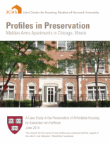 Profiles in Preservation: Malden Arms Apartments in Chicago, Illinois