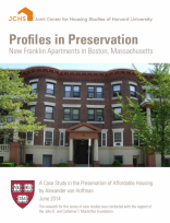 Profiles in Preservation: New Franklin Apartments in Boston, Massachusetts
