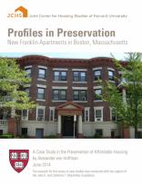 Profiles in Preservation: New Franklin Apartments in Boston, Massachusetts