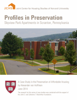 Profiles in Preservation: Skyview Park Apartments in Scranton, Pennsylvania