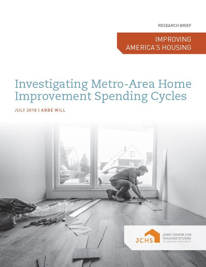 Investigating Metro-Area Home Improvement Spending Cycles